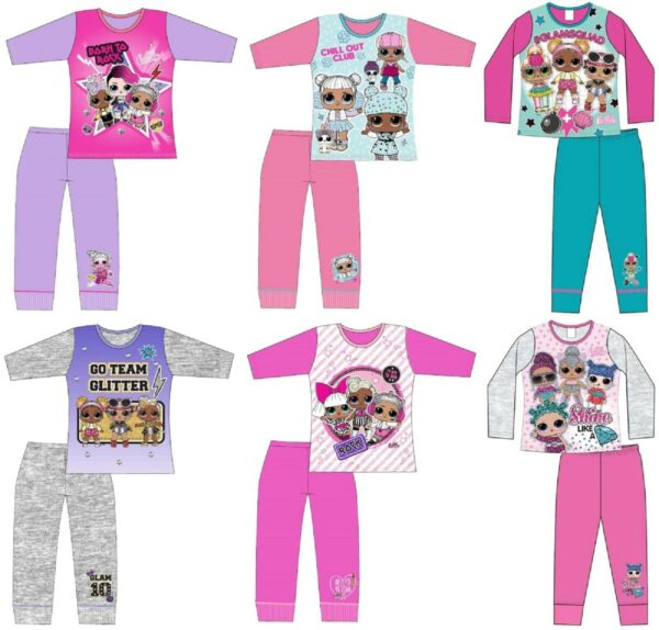 other sizes available Girls Children LOL Surprise Pyjamas Pjs 5-6yrs